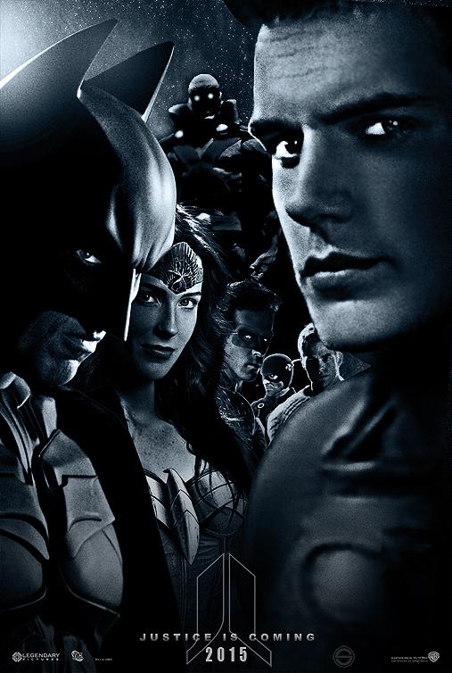 Justice League fan poster