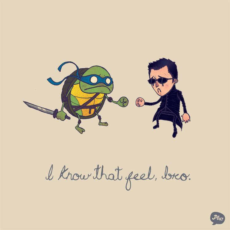 Leonardo and Neo