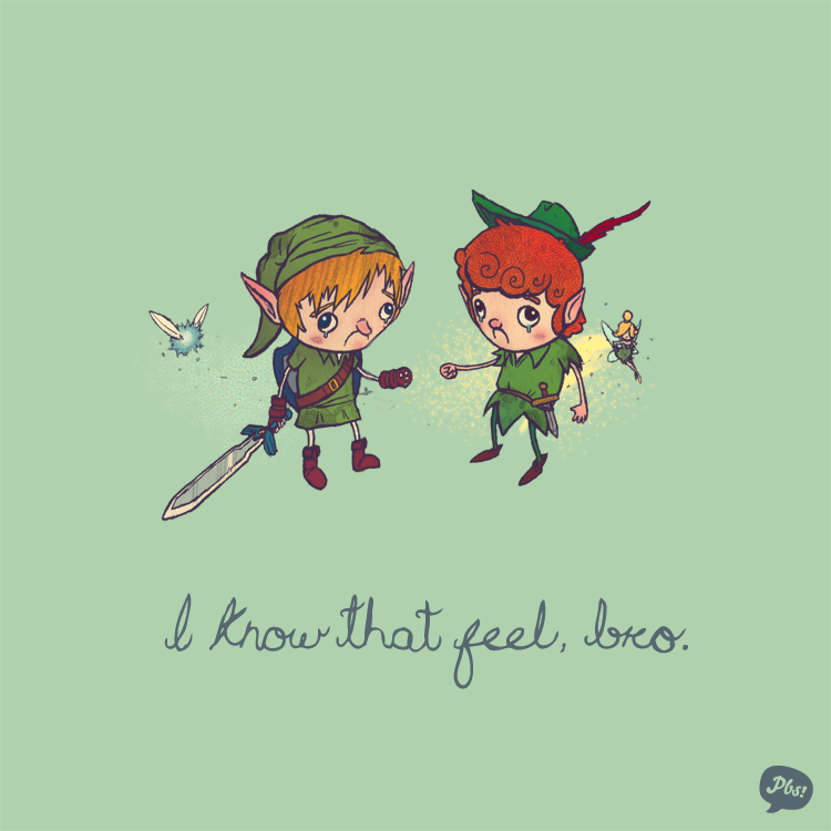 Link and Peter Pan