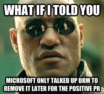 Xbox One Conspiracy for PR