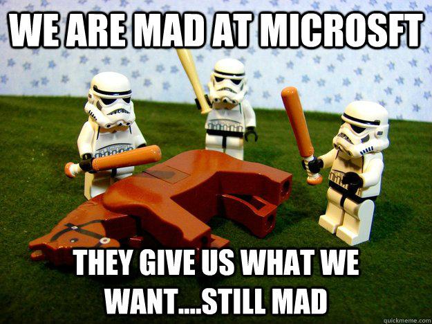 Mad at Microsoft