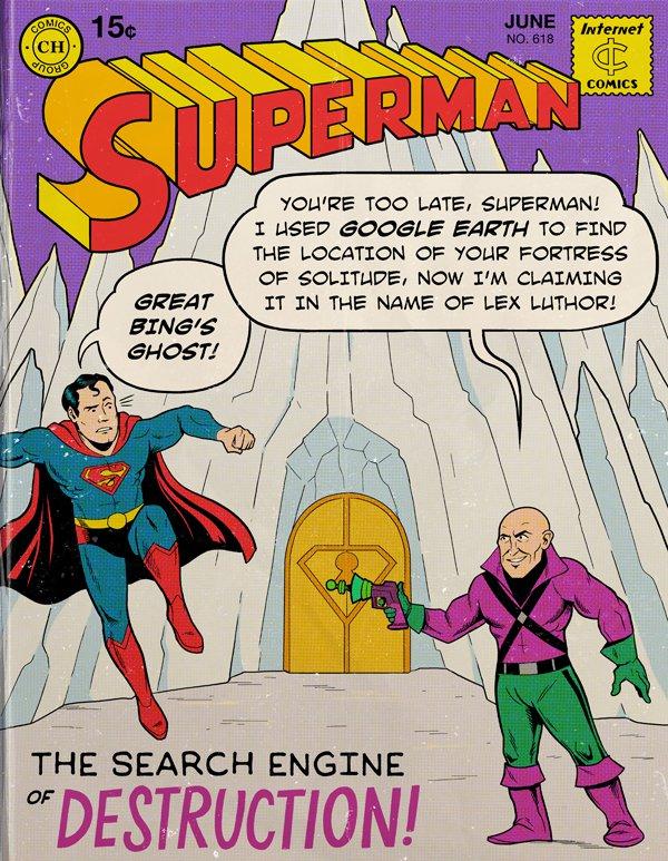 Modern Superman Search Engine