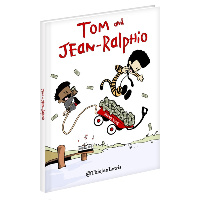 Tom and Jean-Ralphio in Calvin and Hobbes style