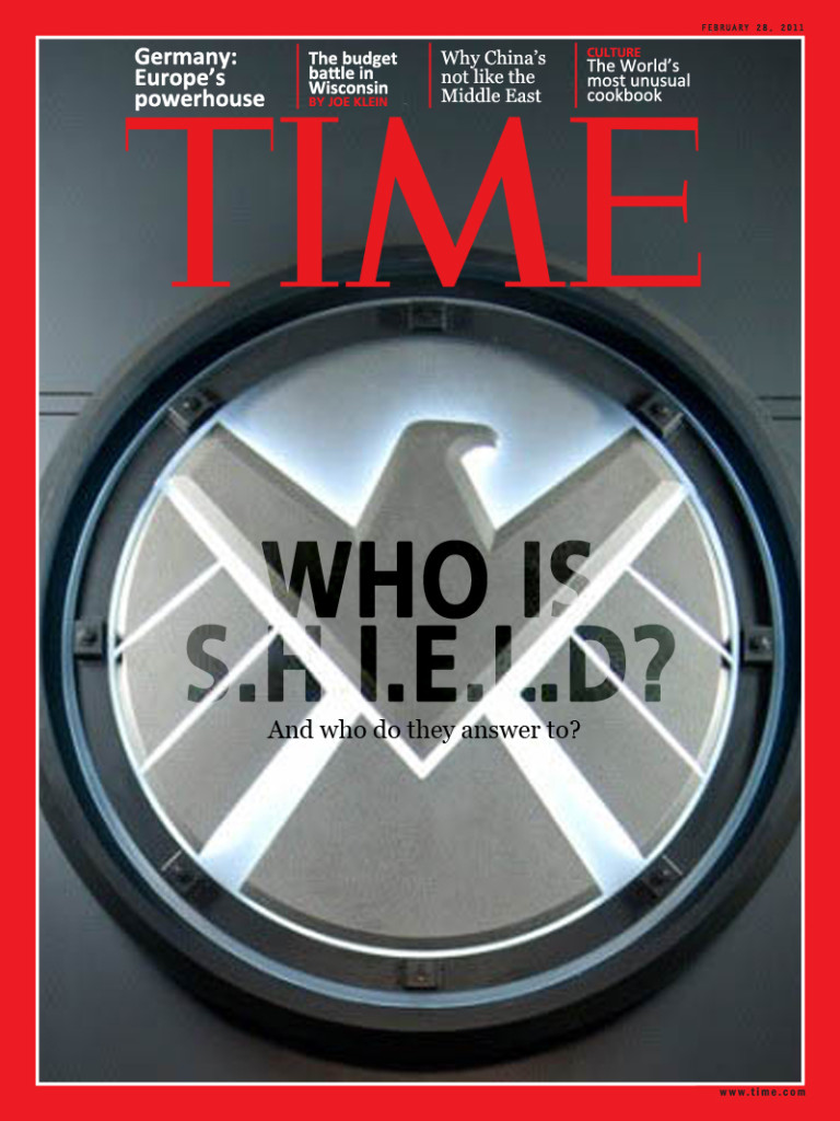 Who is Shield Time Magazine cover