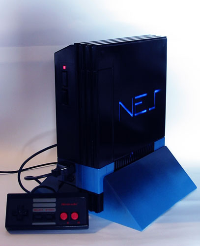 Playstation 2 NES case mod