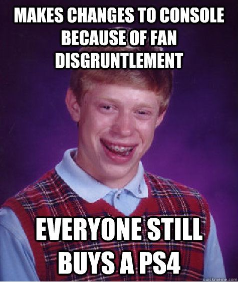 Bad luck Brian PS4