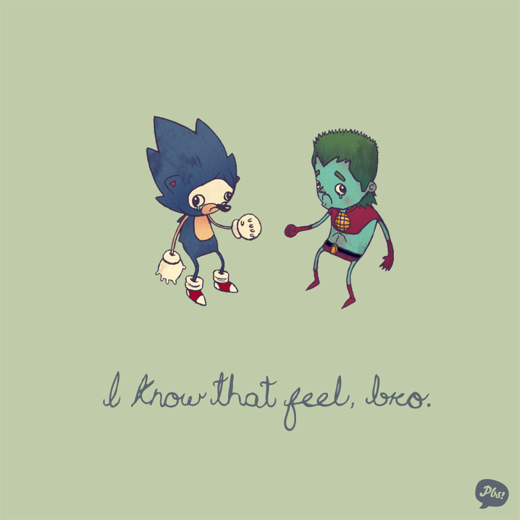Sonic the Hedgehog and Captain Planet