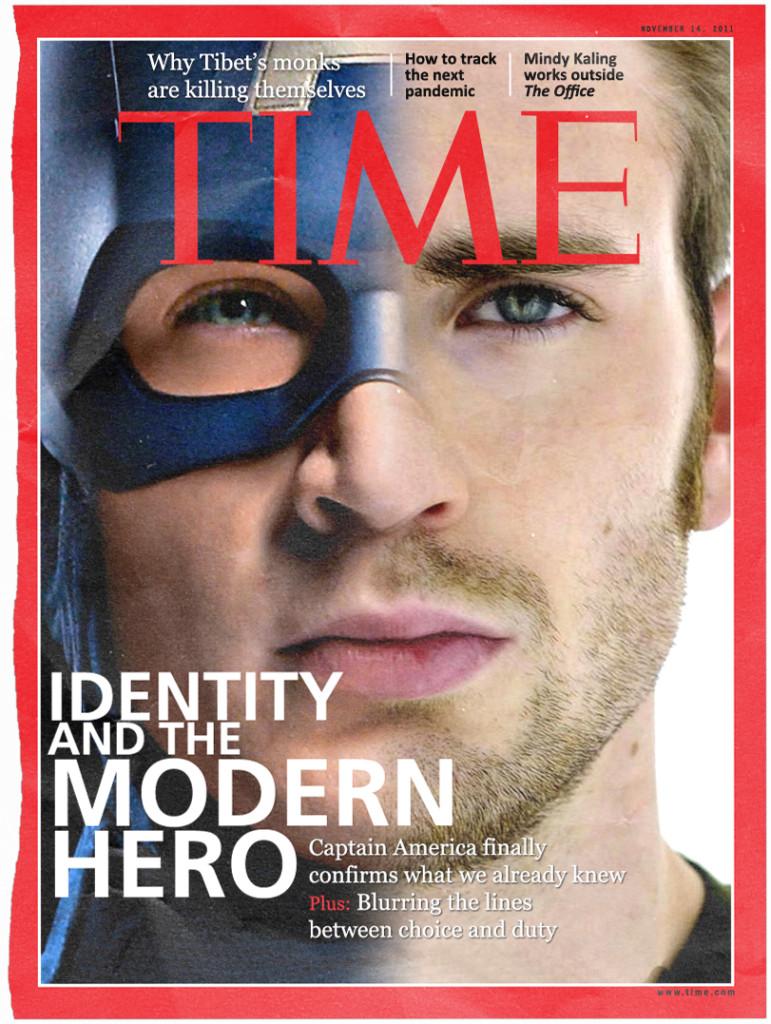 Captain America Time magazine cover