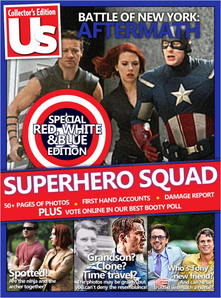 US Weekly Superhero Squad
