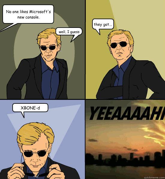 Xbox one CSI