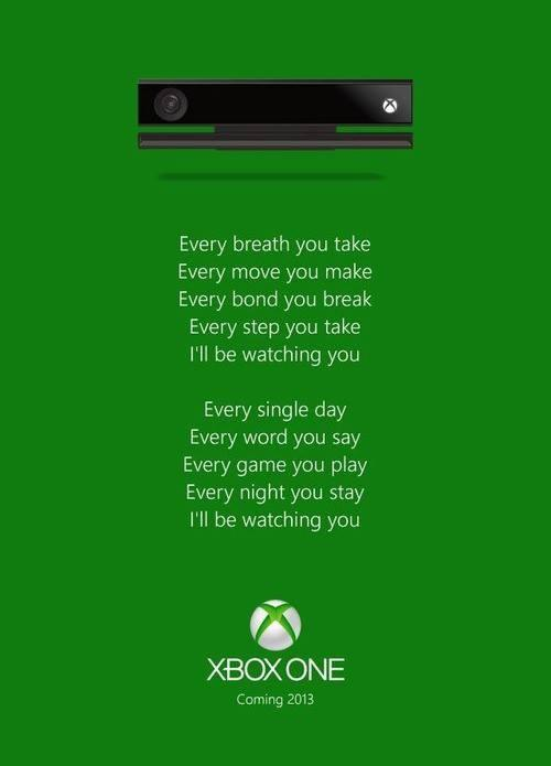 Xbox One singing to you