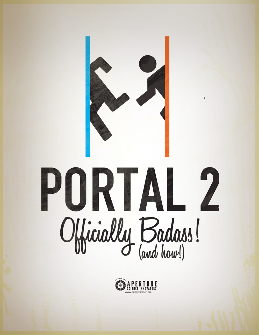 ten stunning portal 2 propaganda posters