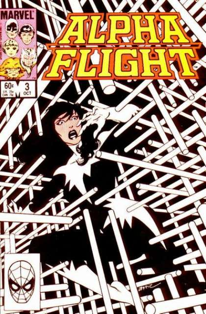 1983: Alpha Flight #3 (John Byrne)