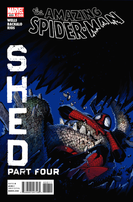 1999: The Amazing Spider-Man #633 (Chris Bachalo)