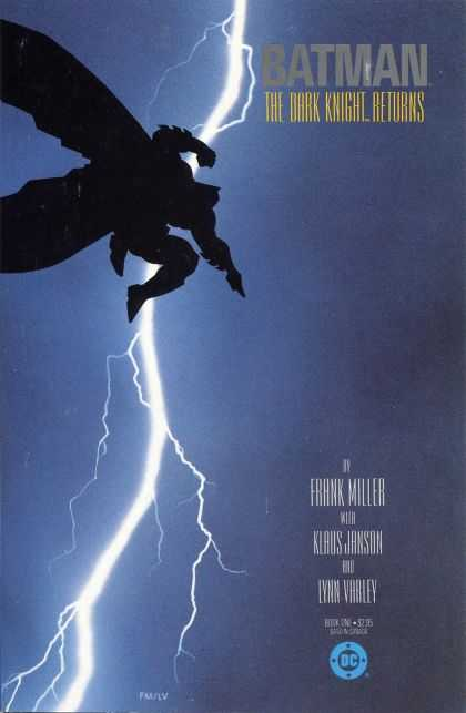 1986: The Dark Knight Returns (Frank Miller)