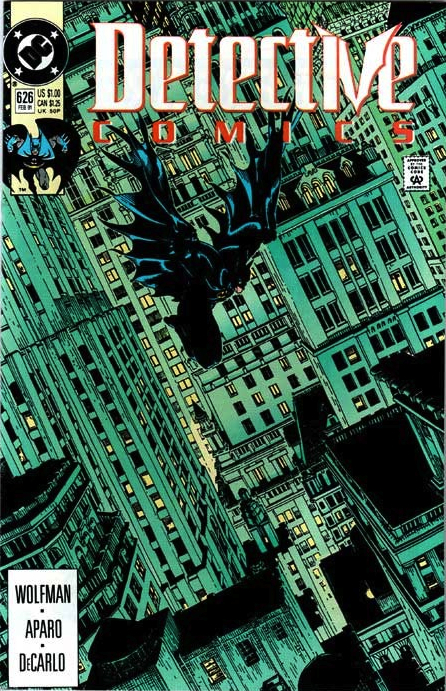 1991: Detective Comics #626 (Michael Golden)