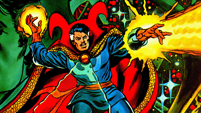 Doctor Strange comic book superheroes