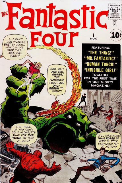 1961: Fantastic Four #1 (Jack Kirby)