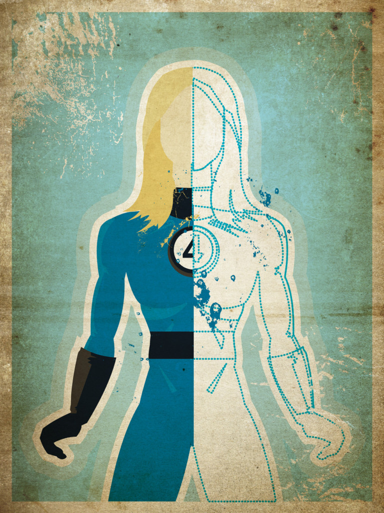 Invisible Woman Sue Storm