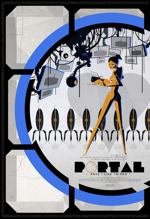 "Portal poster ""Have I Lied To You"""