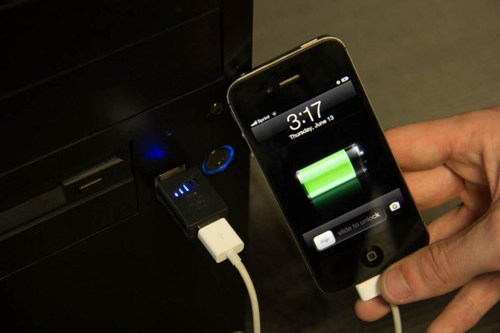 Practical Meter iPhone charging