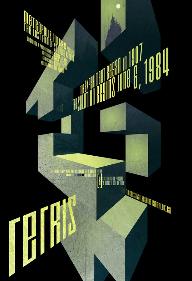 Tetris poster The Experiment began in 1907