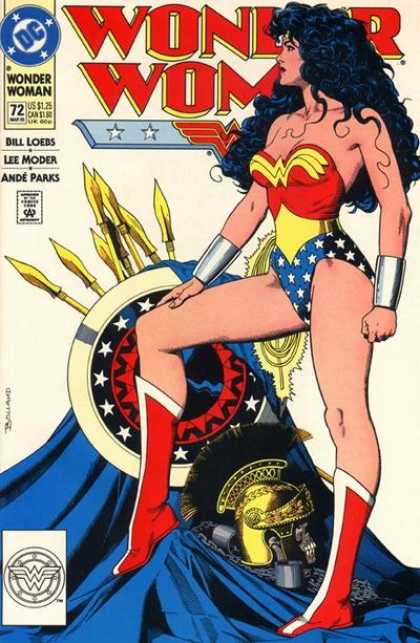 1993: Wonder Woman #72 (Brian Bolland)