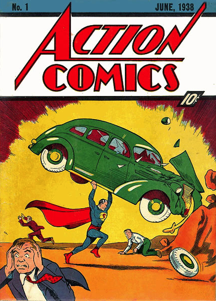 1938: Action Comics #1 (Joe Shuster)