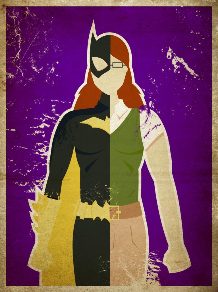 Superheroes series Batgirl Barbara Gordon