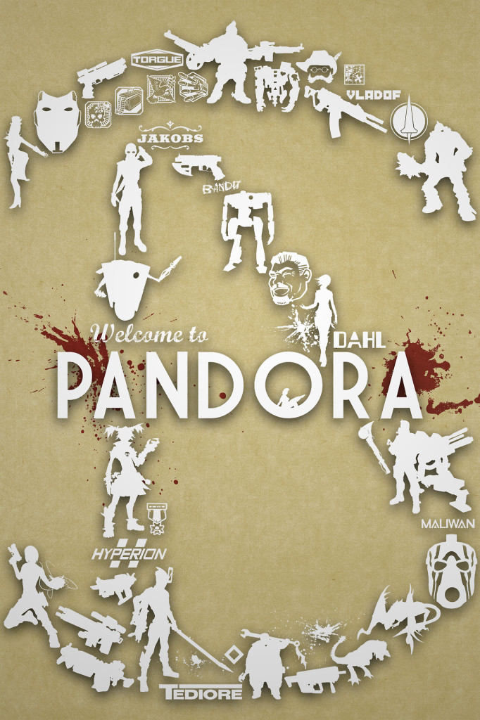 Pandora from Borderlands 2