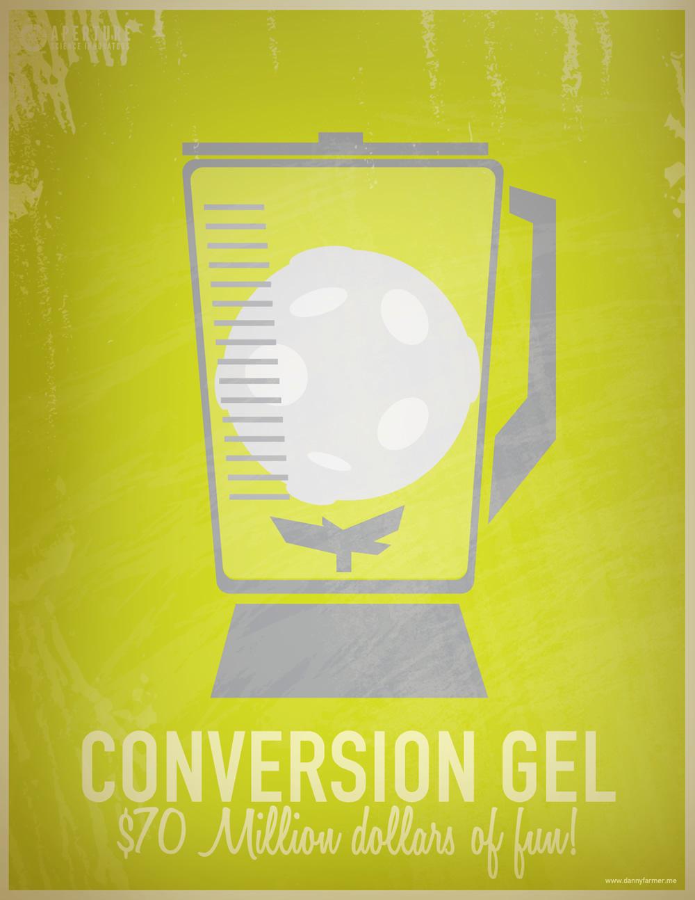 Conversion Gel $70 million dollars of fun