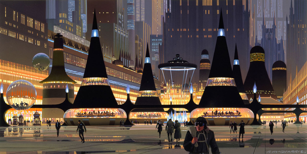 Return of the Jedi  Coruscant, which was semi-realized in the Special Edition