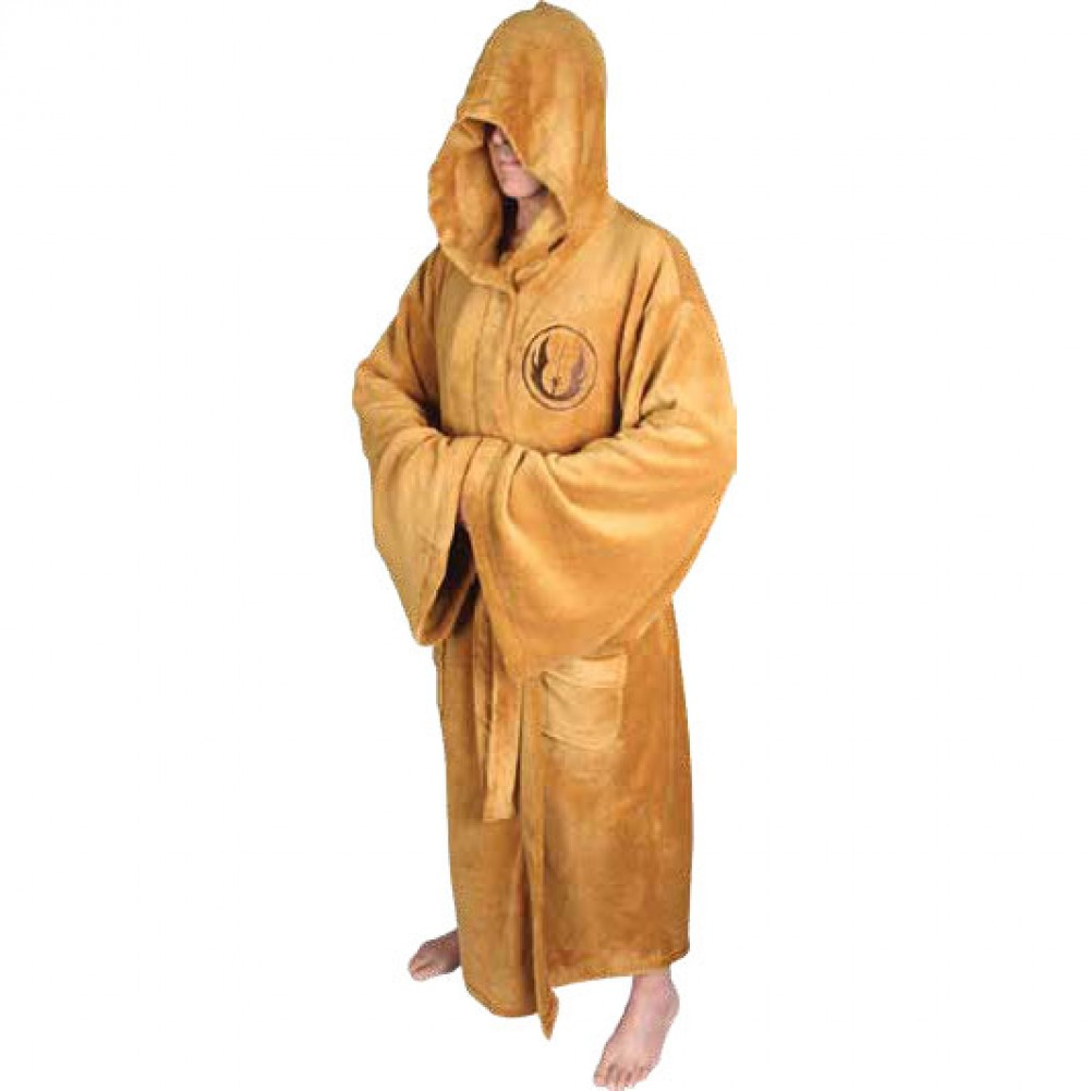dorm room must haves: a Jedi bathrobe