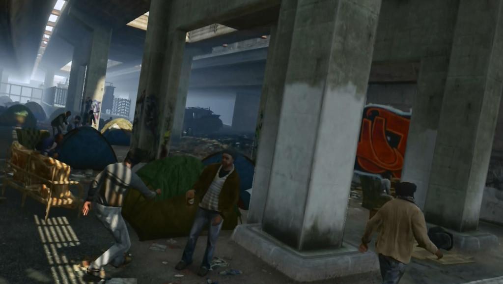 Homeless GTA V