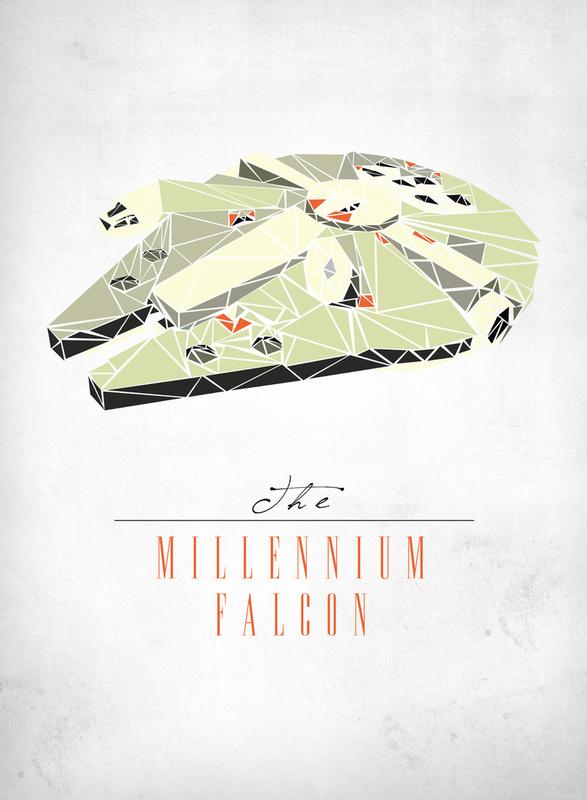 Star Wars Han Solo millenium falcon