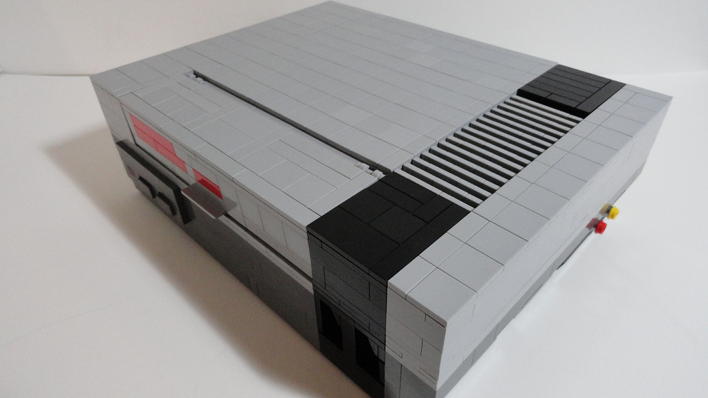 LEGO NES Top view
