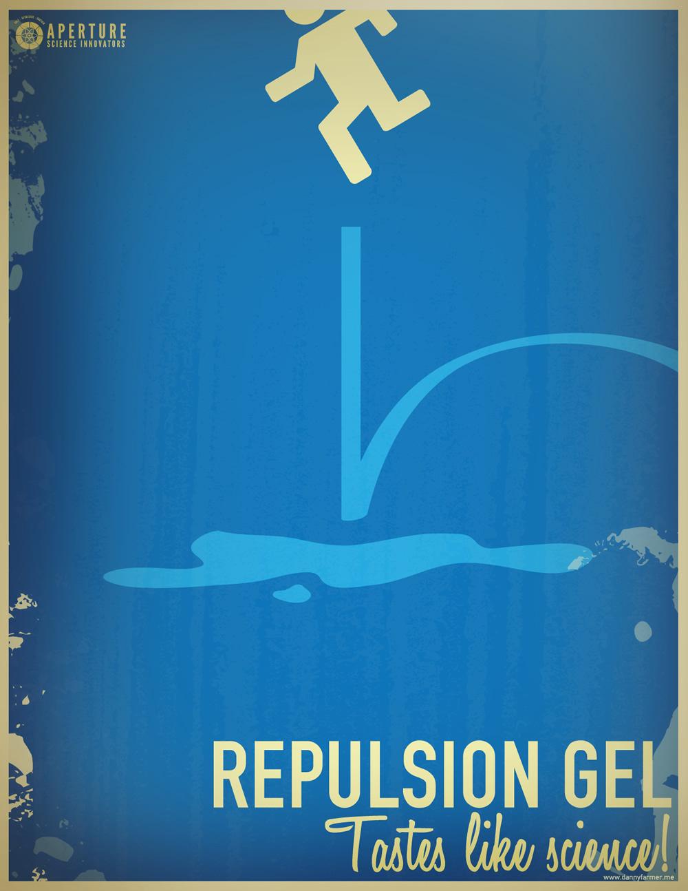 Repulsion gel tastes like science