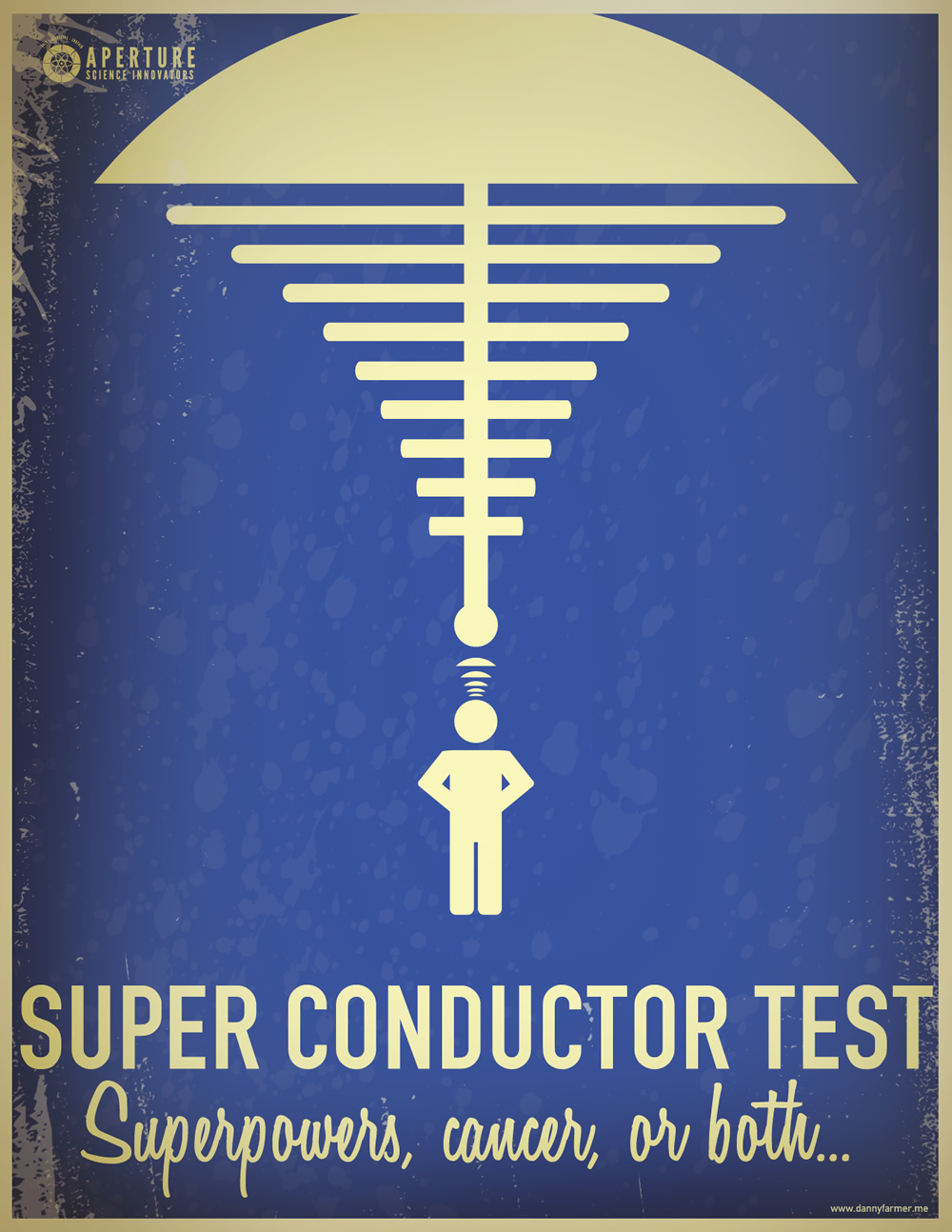 Super Conductor test superpowers, cancer or both