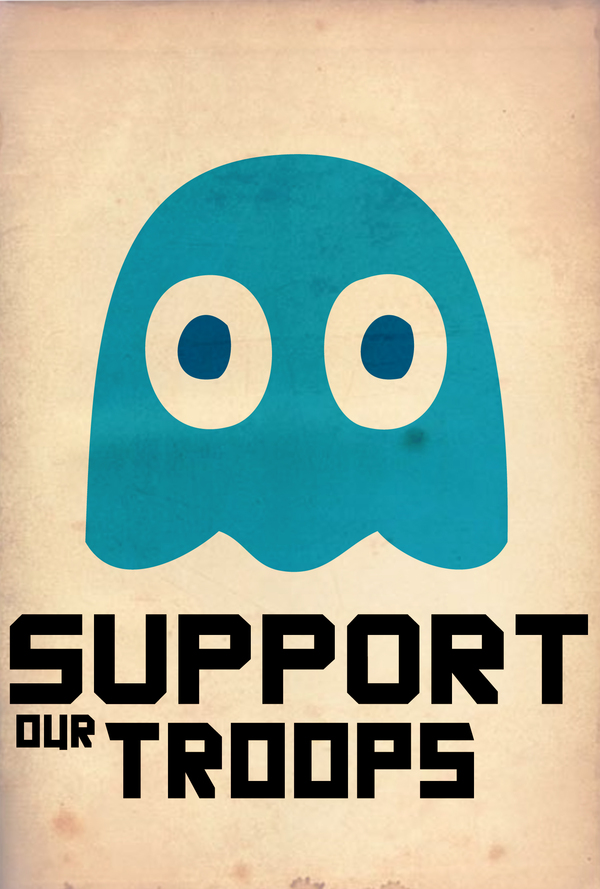 Pac-Man: Support the Troops