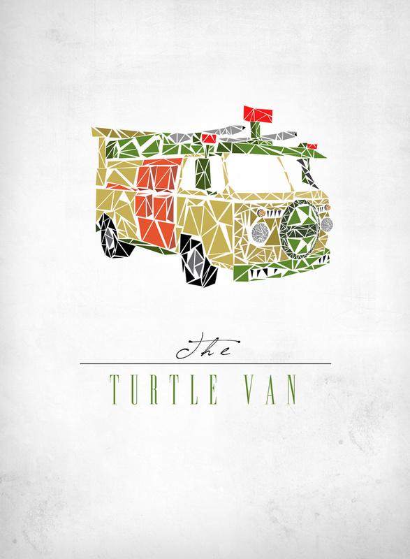 Teenage Mutant Ninja Turtle's van