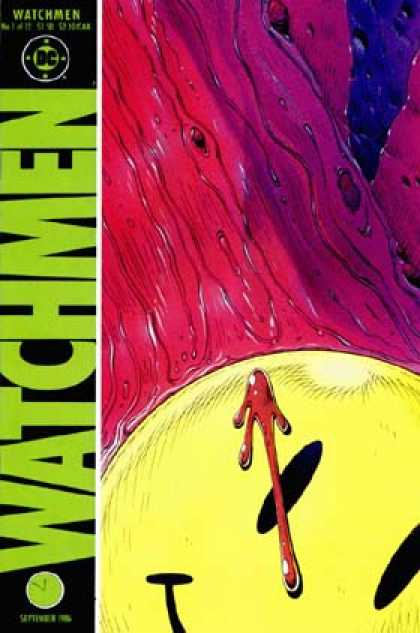1986: Watchmen #1 (Dave Gibbons)