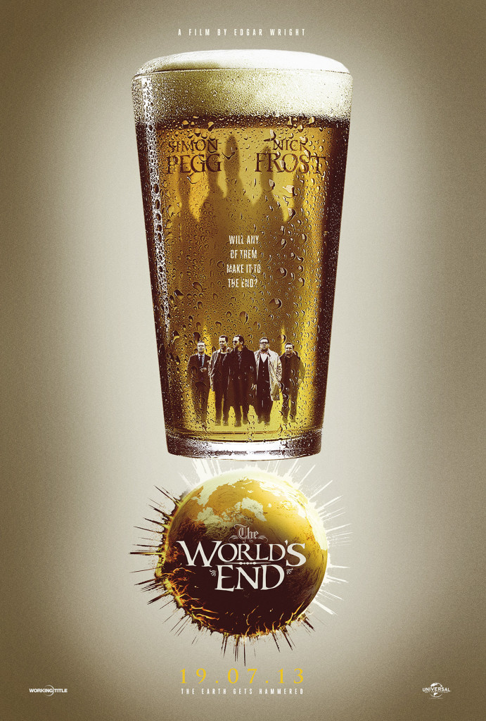 The World's End Pint glass