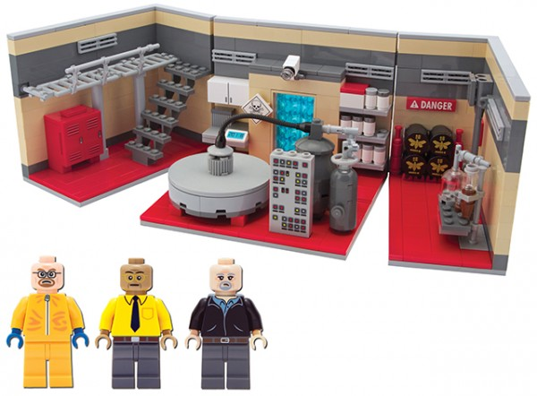 Breaking Bad Meth Lab with mini-figures