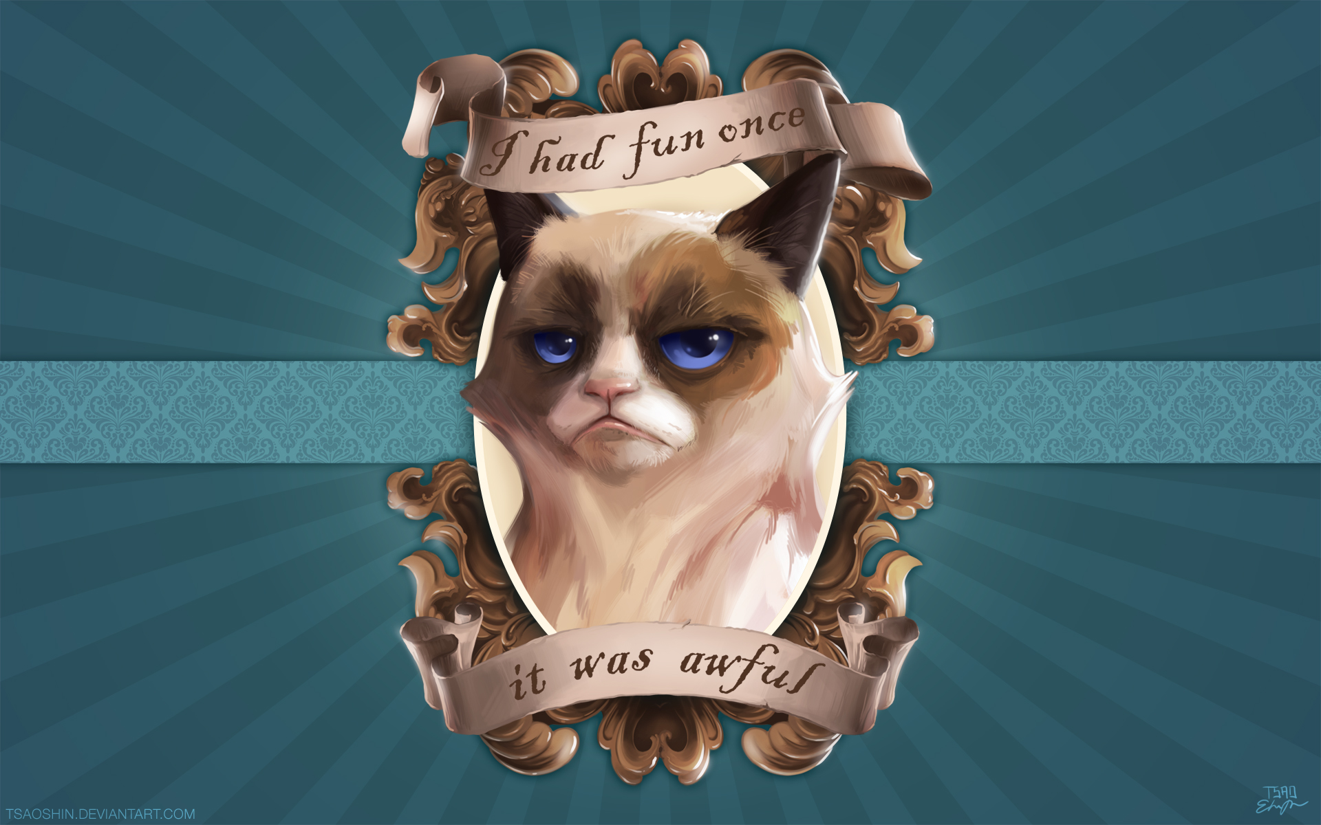 This is What Happens When You Mix Grumpy Cat and Disney Films