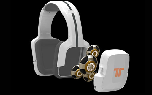 Mad Catz Tritton Pro+ 5.1 Headphones for Windows and Mac Diagram