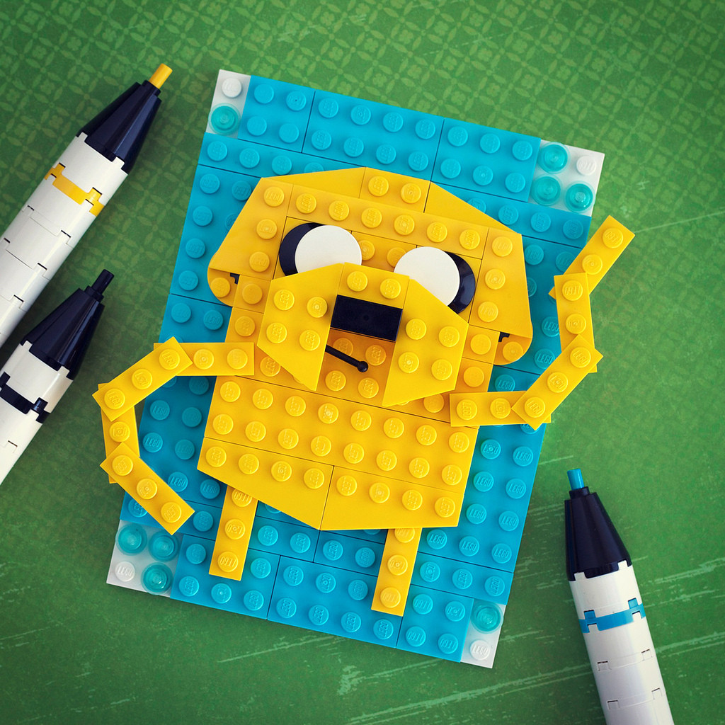 Jake from Adventure Time