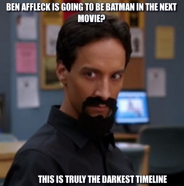 Evil Abed Reaciton
