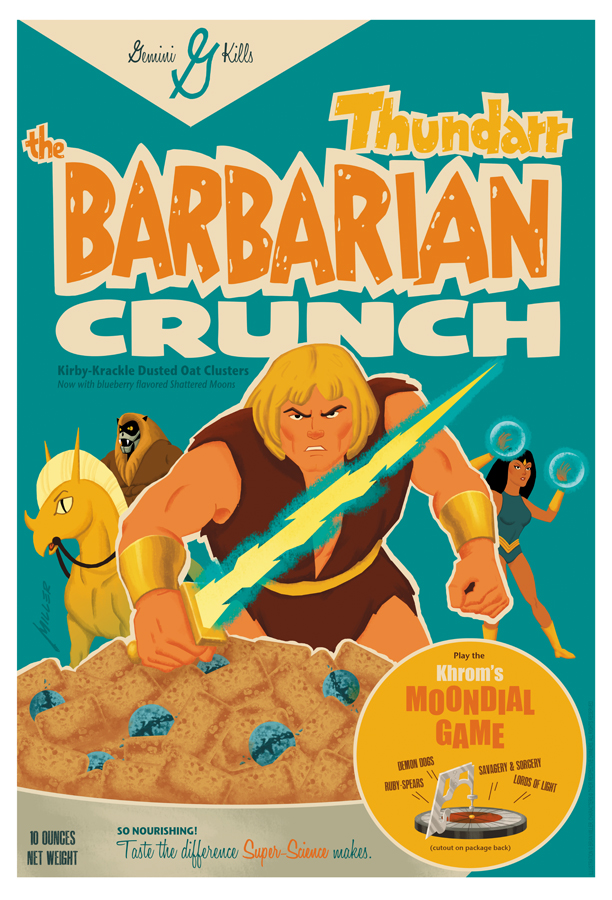 Barbarian Crunch He-man cereal