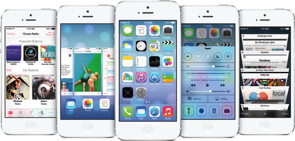 iPhone 5 iOS7 update