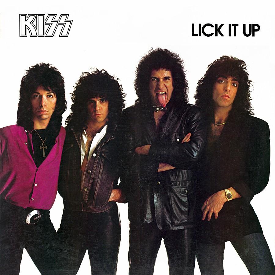 Kiss Lick It Up Vinyl Cover